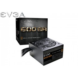 FUENTE DE PODER EVGA 600BR 80Plus (Bronze) 600W (100-BR-0600-K1)