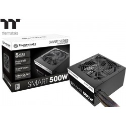 FUENTE PODER THERMALTAKE SMART 500W 80PLUS WHITE (SPD-0500P)