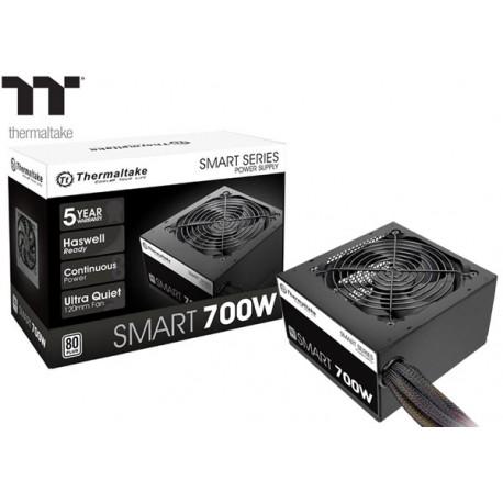 FUENTE PODER THERMALTAKE SMART 700W 80PLUS WHITE (SPD-0700P)