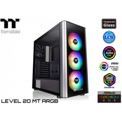 GABINETE THERMALTAKE LEVEL 20 MT ARGB TG (TEMPERED GLASS)