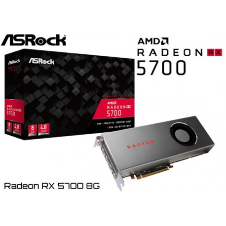 T.V. ASROCK RADEON RX 5700 8G OC GDDR6