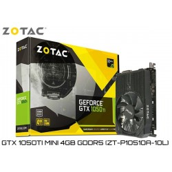 T.V. ZOTAC GEFORCE GTX 1050Ti MINI 4GB