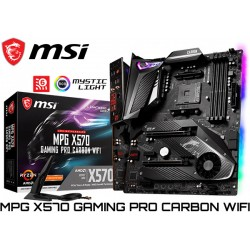 M.B. MSI MPG X570 GAMING PRO CARBON WIFI (AM4) DDR4 (RYZEN 3000)