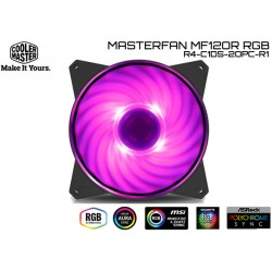 COOLER MASTER MASTERFAN MF120R RGB ( R4-C1DS-20PC-R1)