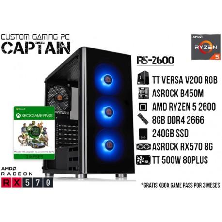 CGP: AMD RYZEN 5 2600, 8GB, 240GB, RX 570 8G
