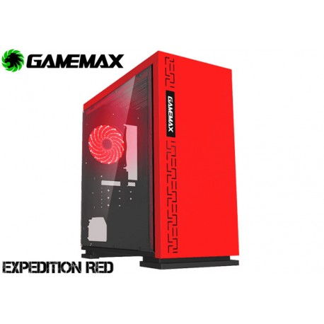 GABINETE GAMEMAX EXPEDITION H605 RED
