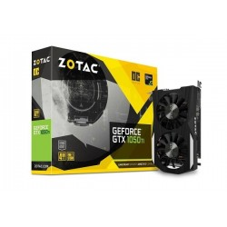 T.V. ZOTAC GEFORCE GTX 1050Ti OC 4GB