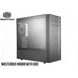 GABINETE COOLER MASTER MASTERBOX NR600 TG (MICRO ATX) WITH ODD