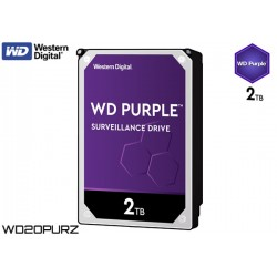 "HDD 2TB 3.5"" WESTERN DIGITAL PURPLE WD20PURZ"
