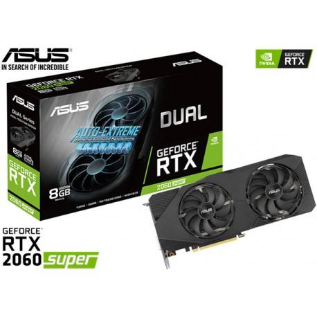 T.V. ASUS DUAL GEFORCE RTX 2060 SUPER EVO 8GB GDDR6 256BITS
