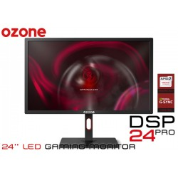 24'' LED GAMER OZONE DSP24 PRO (1920x1080) 1MS 144Hz AMD FREESYNC/NVIDIA GSYNC