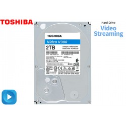 HDD 2TB 3.5'' TOSHIBA V300 VIDEO STREAMING, 5700RPM (HDWU120UZSVA)
