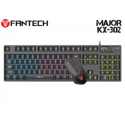 COMBO TECLADO/MOUSE FANTECH MAJOR KX-402 (US)