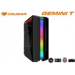 GABINETE COUGAR GEMINI T TEMPERED GLASS RGB (ATX, S/FUENTE) (106KMT0004-01)