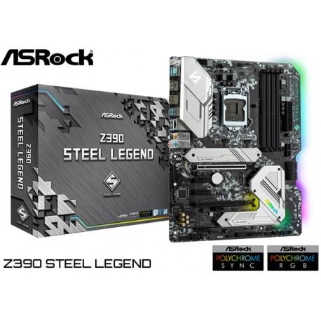 M.B. ASROCK Z390 STEEL LEGEND (LGA1151)
