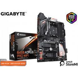 M.B. GIGABYTE B450 AORUS PRO WIFI (AM4) DDR4 (RYZEN)