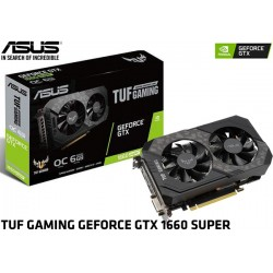 T.V. ASUS TUF GAMING GEFORCE GTX 1660 SUPER OC EDITION 6GB GDDR6 (TUF-GTX1660S-O6G-GAMING)