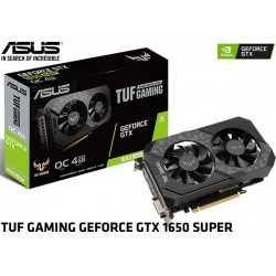 T.V. ASUS TUF GAMING GEFORCE GTX 1650 SUPER OC EDITION 4GB GDDR6 (TUF-GTX1650S-O4G-GAMING)