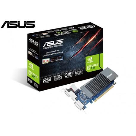T.V. ASUS GEFORCE GT 710 2GB GDDR5 (LOW PROFILE)