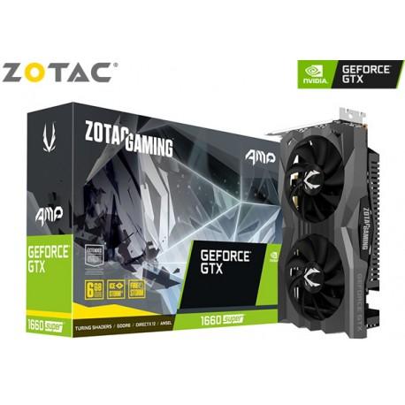 T.V. ZOTAC GAMING GeForce GTX 1660 SUPER AMP (ZT-T16620D-10M)