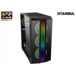 GABINETE XIGMATEK ISTANBUL (E-ATX) (RAINBOW FAN LED)