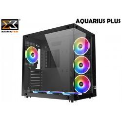 GABINETE XIGMATEK AQUARIUS PLUS BLACK (ATX) (RAINBOW FAN LED)