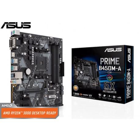 M.B. ASUS PRIME B450M-A/CSM (AM4) DDR4 (RYZEN)