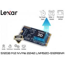 512GB M.2 2242 PCIe NVMe SSD LEXAR NM500 (1650MB/1000MB)