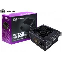 FUENTE DE PODER COOLER MASTER MWE WHITE 650 (650W)