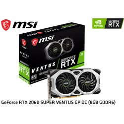 T.V. MSI GEFORCE RTX 2060 SUPER VENTUS GP OC 8GB GDDR6