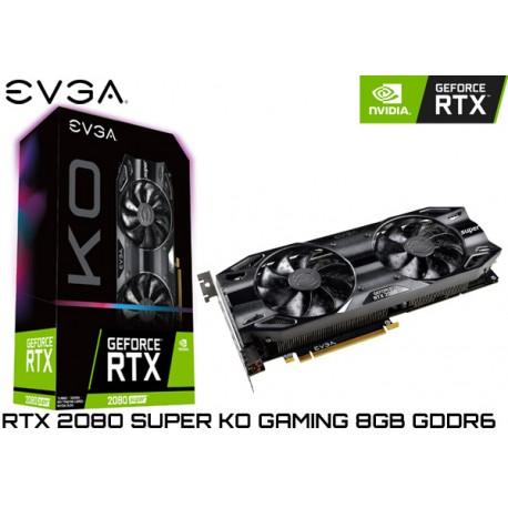 T.V. EVGA GEFORCE RTX 2080 SUPER KO GAMING 8GB GDDR6 (08G-P4-2083-KR)
