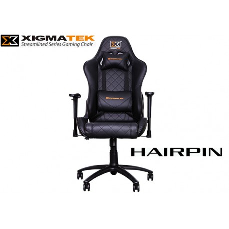 SILLA GAMER XIGMATEK HAIRPIN (BLACK)