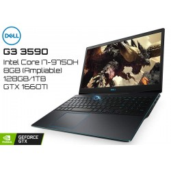 NOTEBOOK GAMER DELL G3 3590 I7-9750H (2.6GHz/4.5GHz) 8GB 128GB+1TB GTX 1660TI W10H