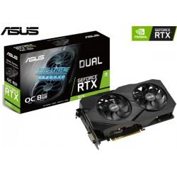 T.V. ASUS DUAL GEFORCE RTX 2070 EVO V2 8GB OC GDDR6 256BITS