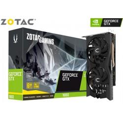 T.V. ZOTAC GAMING GEFORCE GTX 1660 TWIN FAN 6GB GDDR6 (ZT-T16600K-10M)