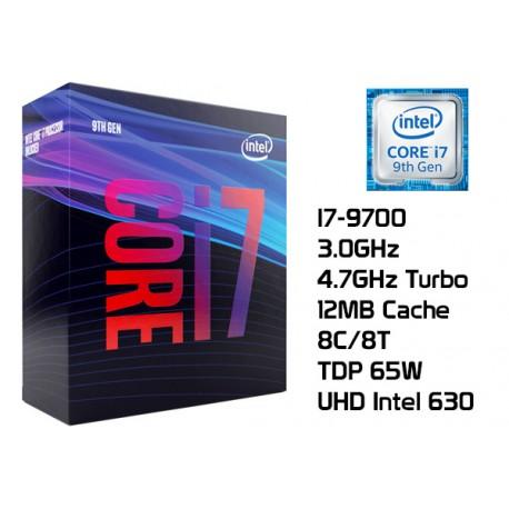 3.0GHz INTEL I7-9700 12MB CACHE (LGA1151) 9NA GEN (COFFE LAKE)