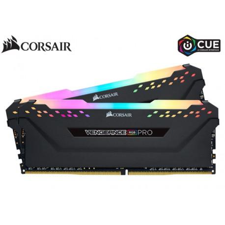 16GB DDR4 3200MHZ CORSAIR VENGEANCE RGB PRO (8GBx2) (CMW16GX4M2C3200C16)
