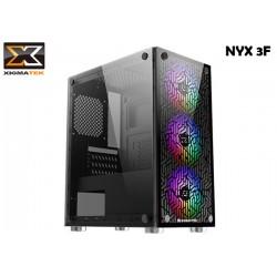 GABINETE XIGMATEK NYX 3F (MATX) (3x120MM FAN)