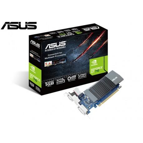 T.V. ASUS GEFORCE GT 710 1GB GDDR5 (LOW PROFILE)