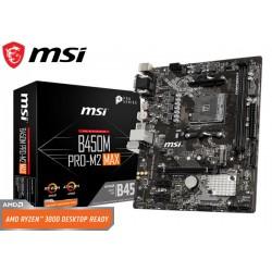 M.B. MSI B450M PRO-M2 MAX (AM4) DDR4 (RYZEN)