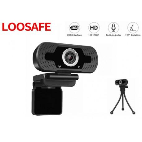 WEBCAM LOOSAFE LS-F36-1080P(XM) 1080P C/MIC C/TRIPODE