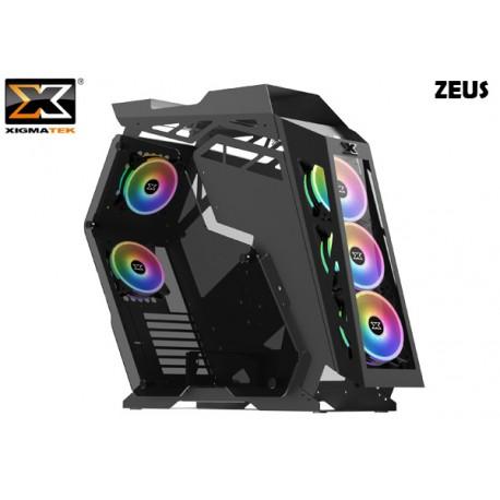 GABINETE XIGMATEK ZEUS (ATX) (RAINBOW FAN LED)