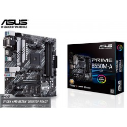 M.B. ASUS PRIME B550M-A/CSM (AM4) DDR4 (RYZEN 3000)