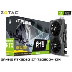 T.V. ZOTAC GAMING GEFORCE RTX 2060 6GB GDDR6 192BIT (ZT-T20600H-10M)