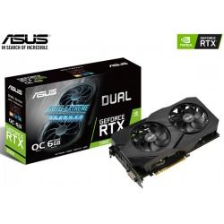 T.V. ASUS DUAL GEFORCE RTX 2060 OC EVO 6GB GDDR6 192BITS