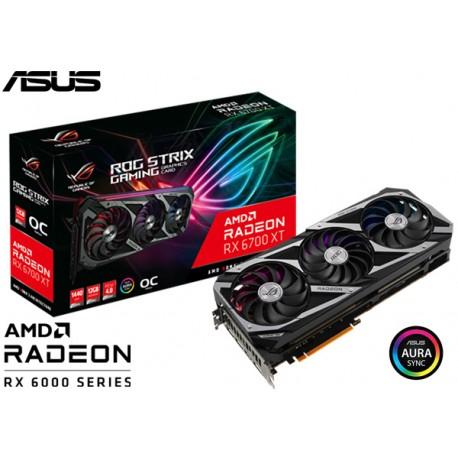 T.V. ASUS ROG STRIX RADEON RX 6700 XT OC GAMING 12GB GDDR6 (ROG-STRIX-RX6700XT-O12G-GAMING)