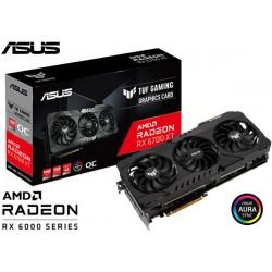 T.V. ASUS TUF RADEON RX 6700 XT OC GAMING 12GB GDDR6 (TUF-RX6700XT-O12G-GAMING)