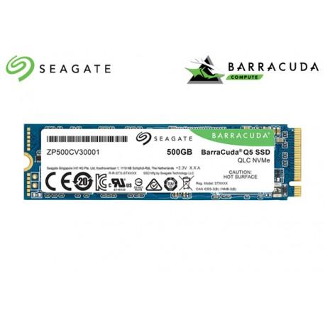 500GB M.2 2280 NVME SEAGATE BARRACUDA Q5 SSD PCIe® GEN3 x4