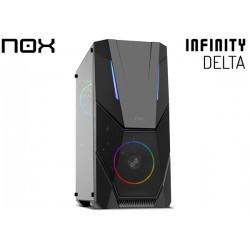 GABINETE NOX INFINITY DELTA TG (ATX) (2x120MM FAN)